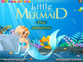 Jogo Little Mermaid Dress Up  online - jogos on-line